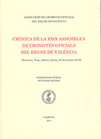 Portada 'Crónica de la XXIX Asamblea ACORV'